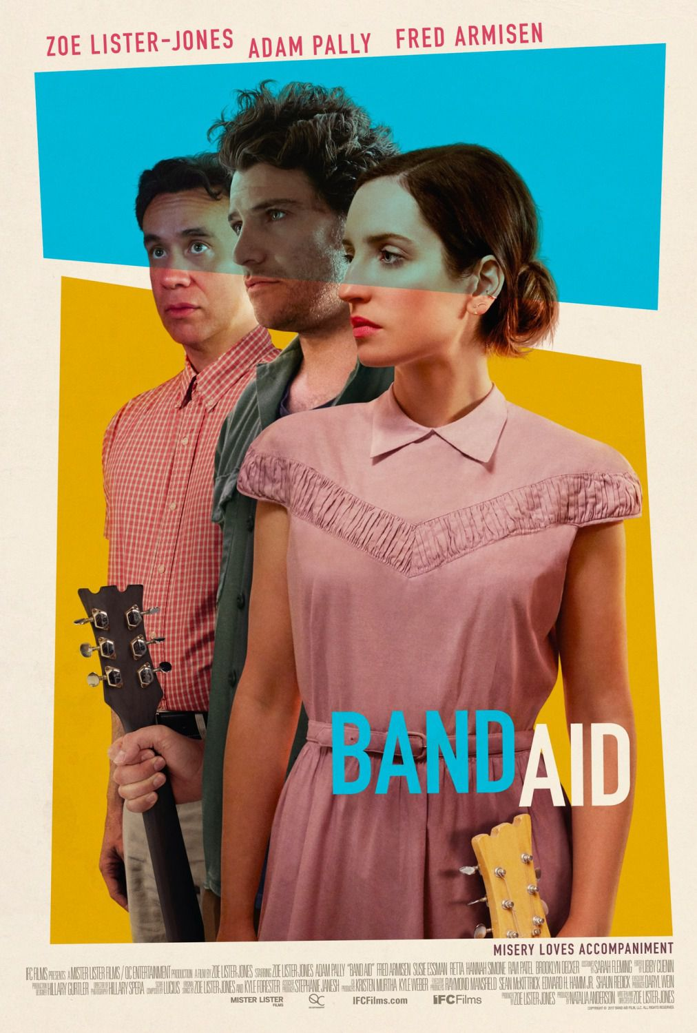 Band Aid film poster