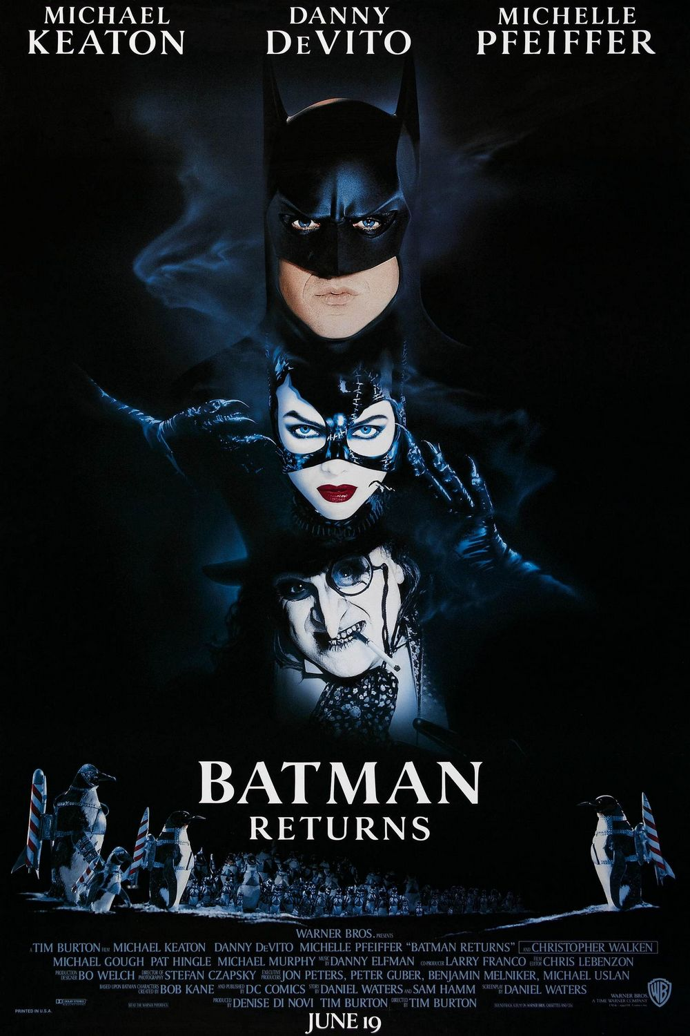Batman Returns - film poster 1992