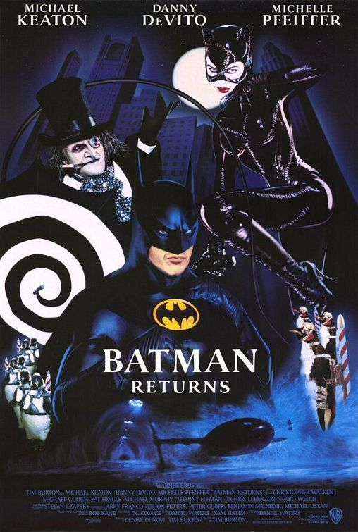 Batman Returns (1992) - film poster