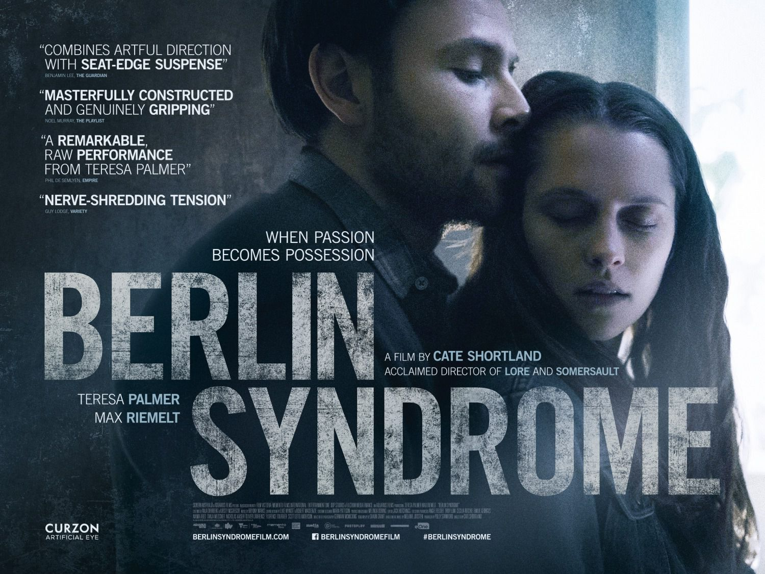 Berlin Syndrome - Sindrome di Berlino - film drama poster