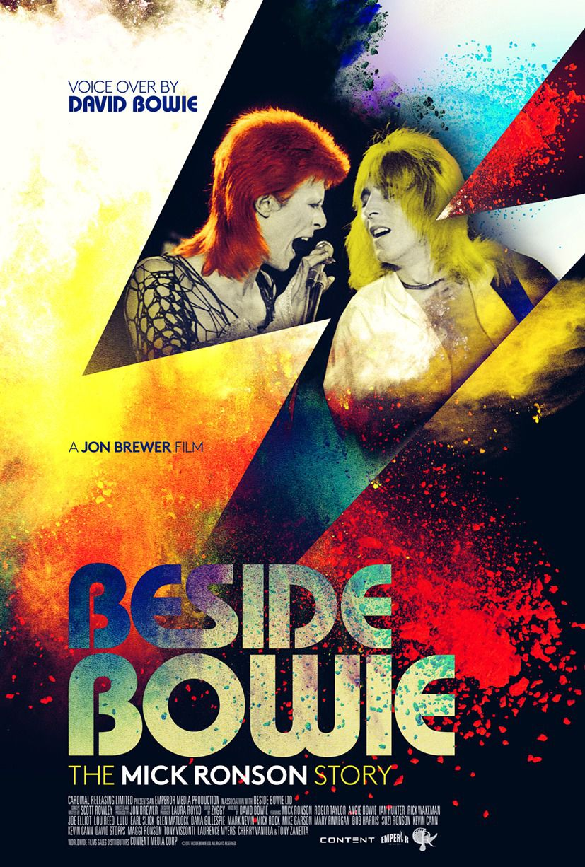 Beside Bowie the Mick Ronson Story - film poster