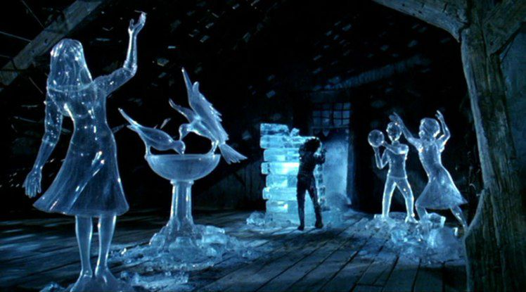 Best 20 Fantasy - Migliori Film - Edward Mani di Forbice - Edward Scissorhands  - Ice scultures