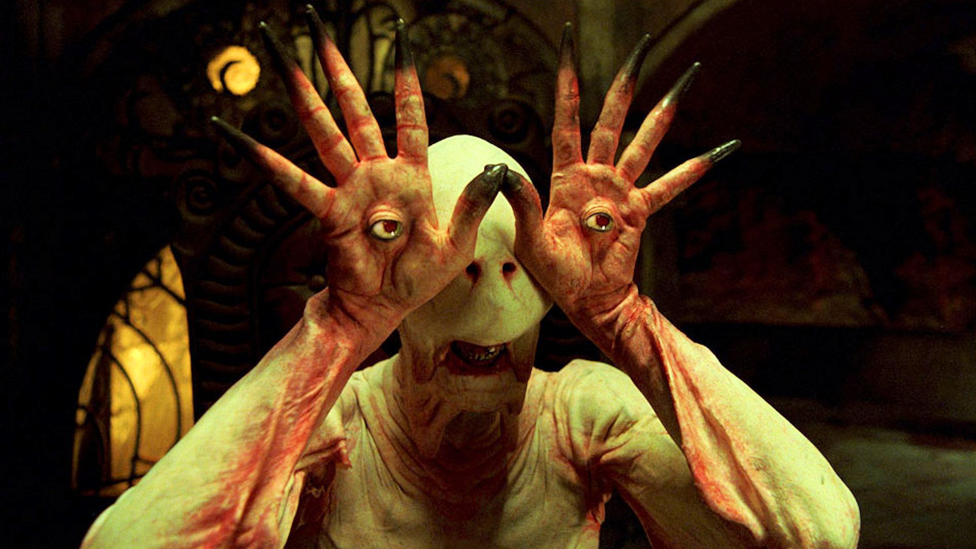 Best 20 Fantasy - Migliori Film - Pans Labyrinth - Labirinto del Fauno - Monster without eyes - eye in the hands