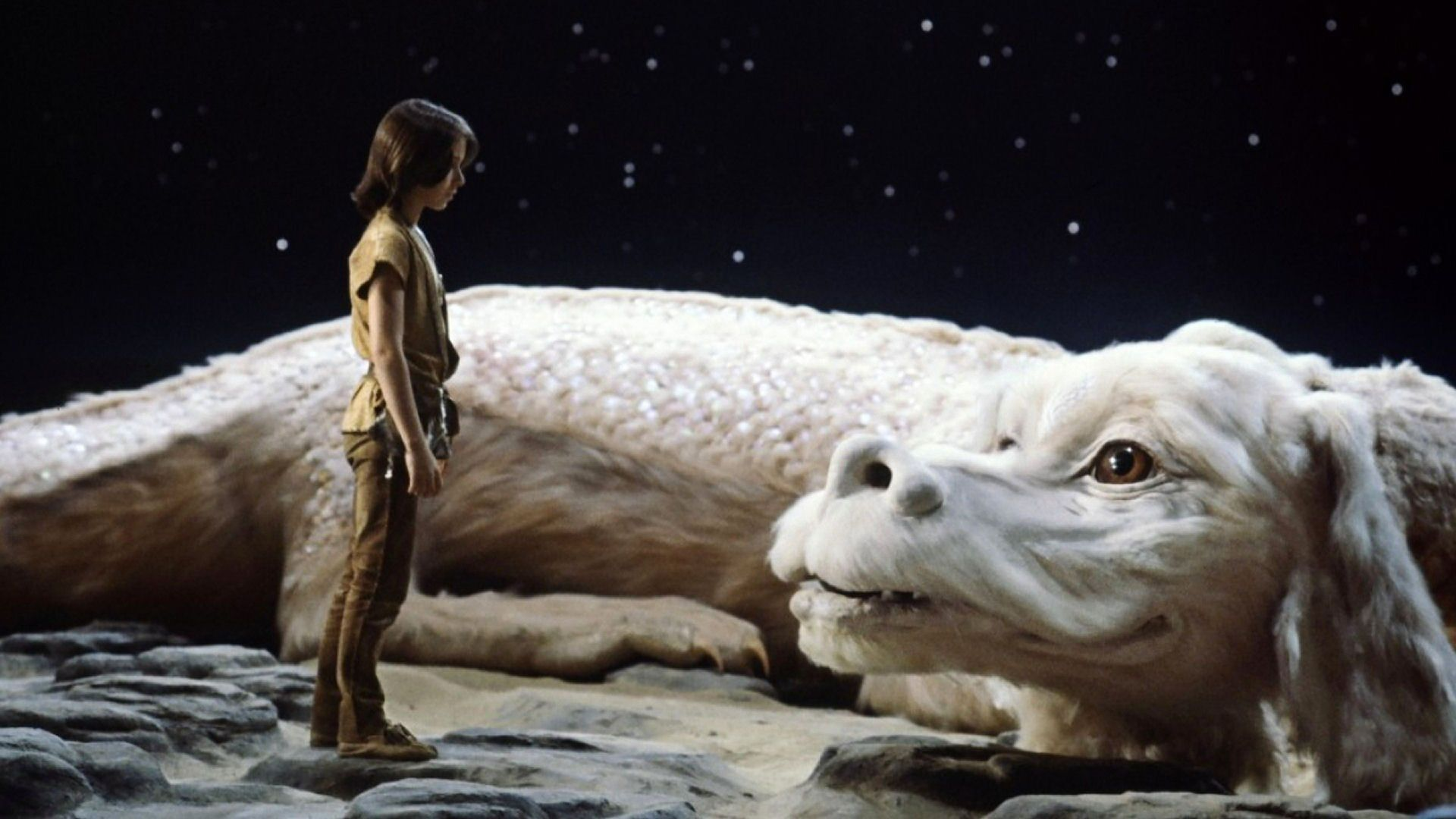 Best 20 Fantasy - Migliori Films - The NeverEnding Story - La Storia Infinita - Die unendliche Geschichte - Fortunadrago - Dog white dragon