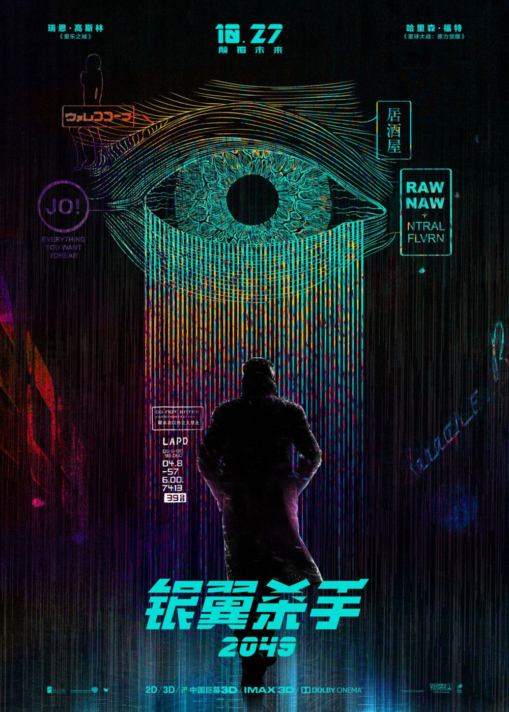 Blade Runner 2 by Denis Villeneuve - Harrison Ford, Ryan Gosling, Robin Wright, Dave Bautista
