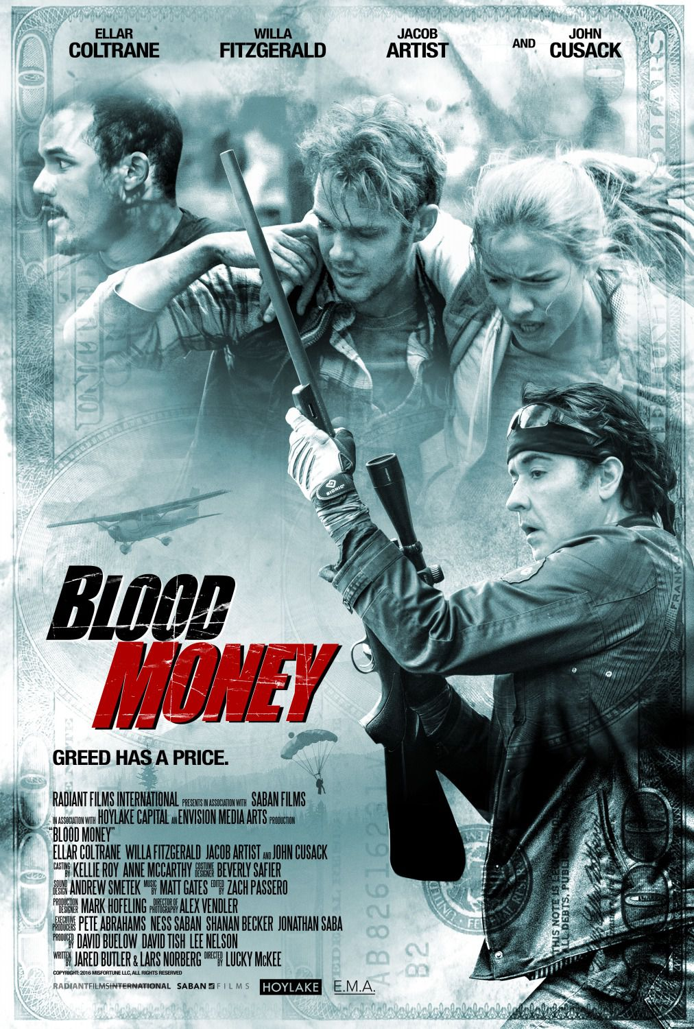 Blood Money - Soldi Sporchi - Ellar Coltrane, John Cusack, Ellar Coltrane, Willa Fitzgerald, Jacob Artist