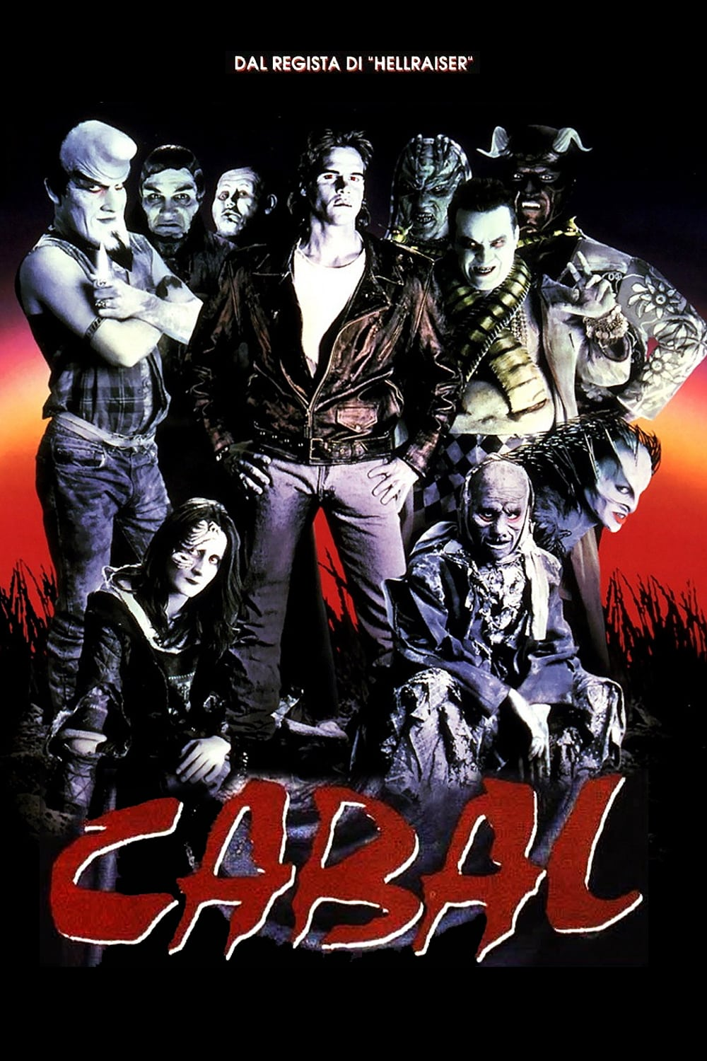 Cabal - Nightbreed - Fantasy Horror Film Poster 1990