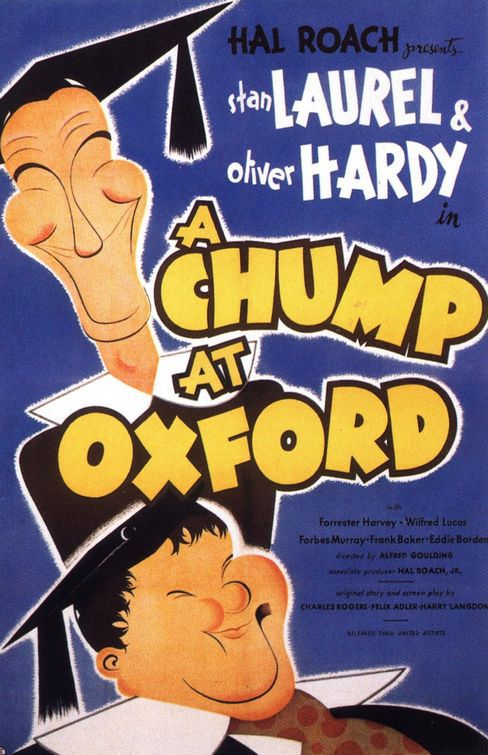 Chump at Oxford (1940) - Noi siamo le Colonne - Stan Laurel and Oliver Hardy