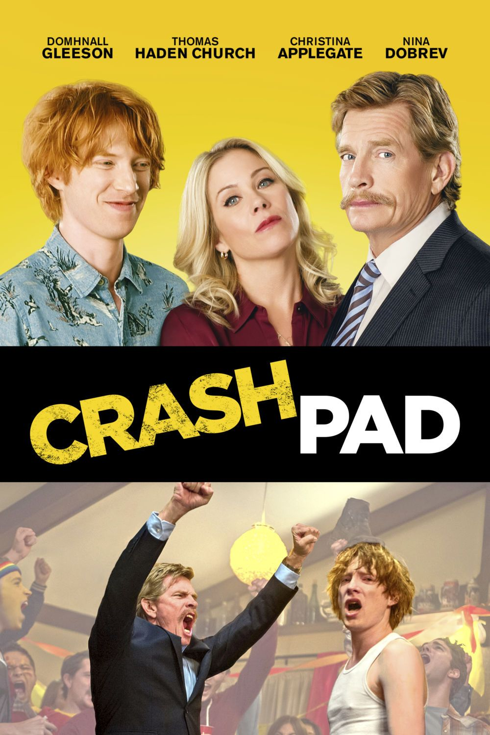 Crash Pad - film comedy poster