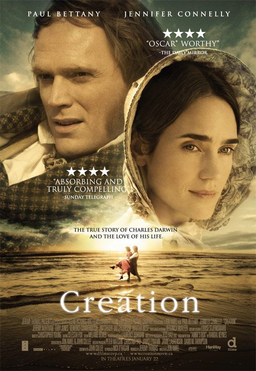 Creation - Paul Bettany, Jennifer Connelly - film poster