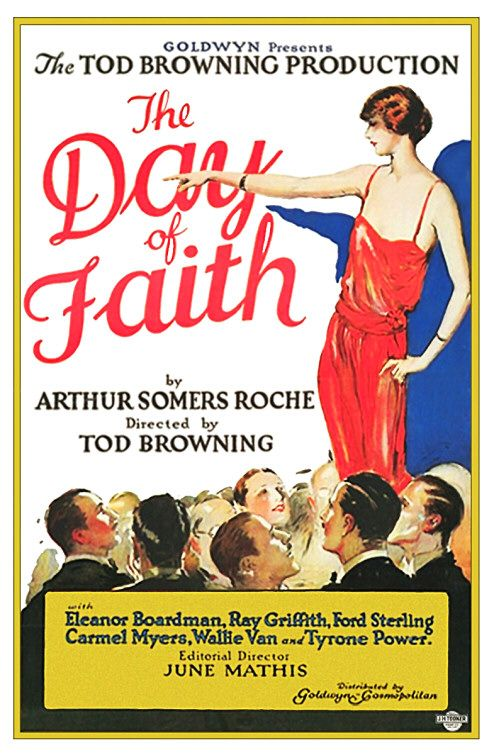 Day of Faith (1923) - Giorno della Fede - special cult classic history Film poster