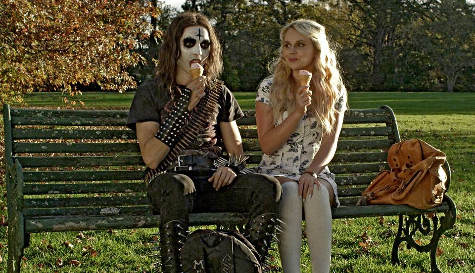 Deathgasm - scene ice cream and Rock in the park