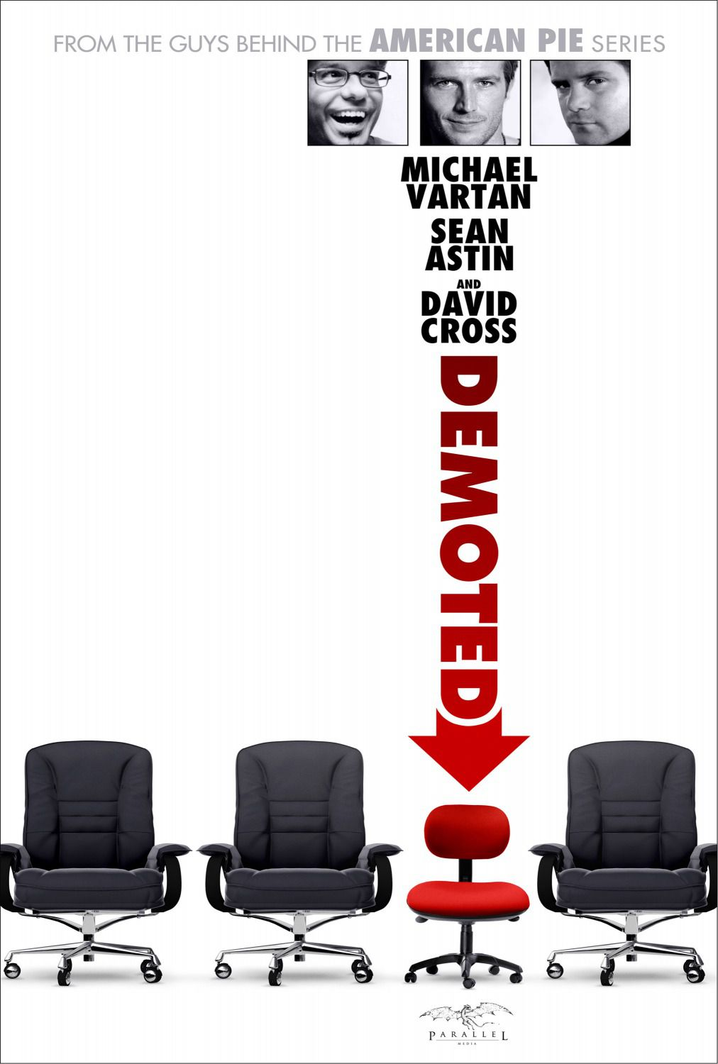 Demoted - Michael Vartan, Sean Astin, David Cross - film poster