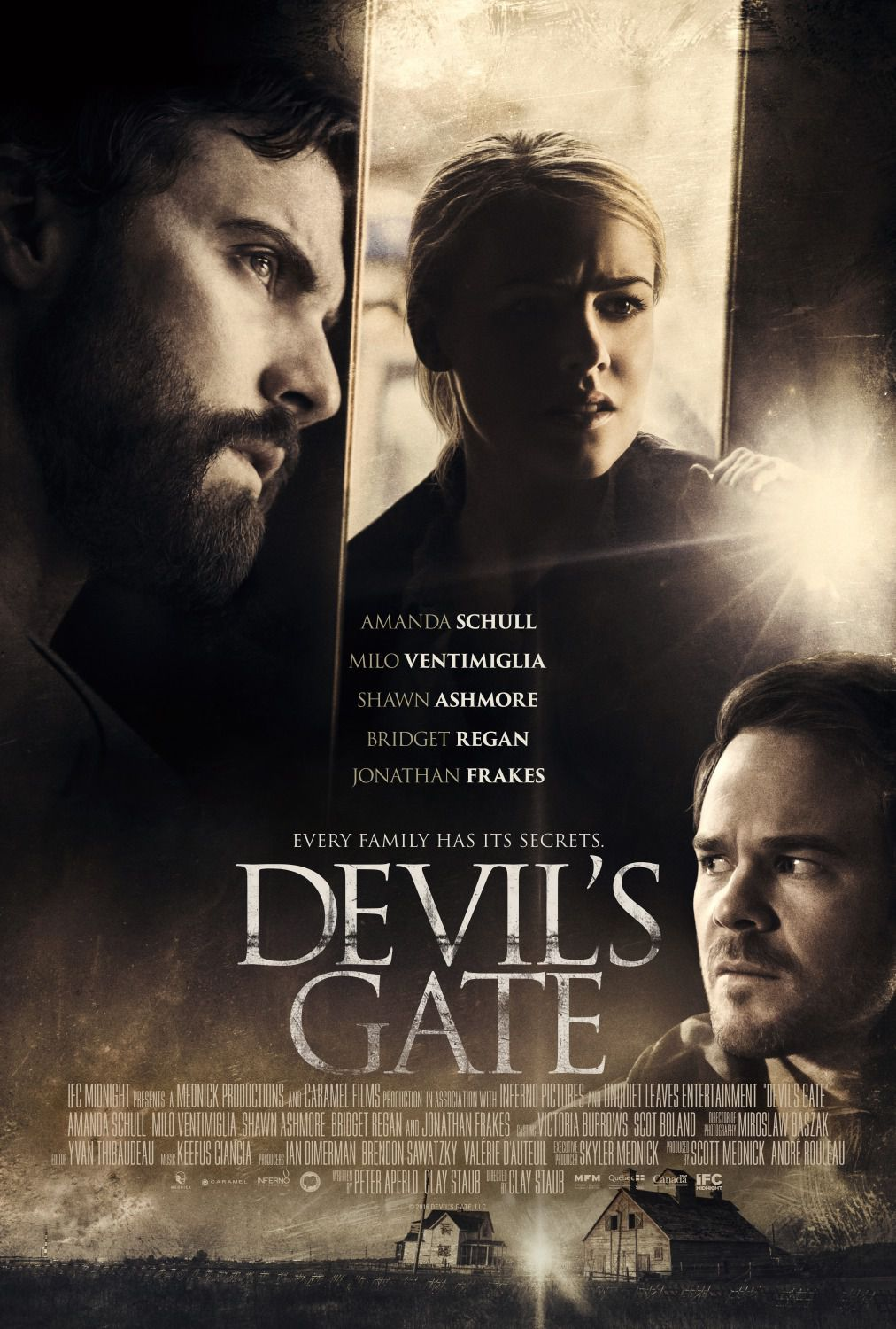 Devil's Gate (2018) by Clay Staub - horror thriller film poster