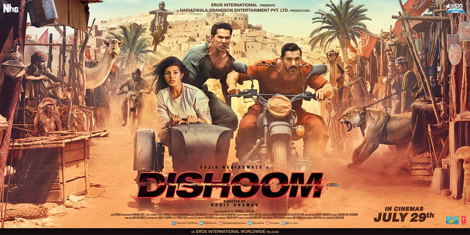 Dishoom film poster