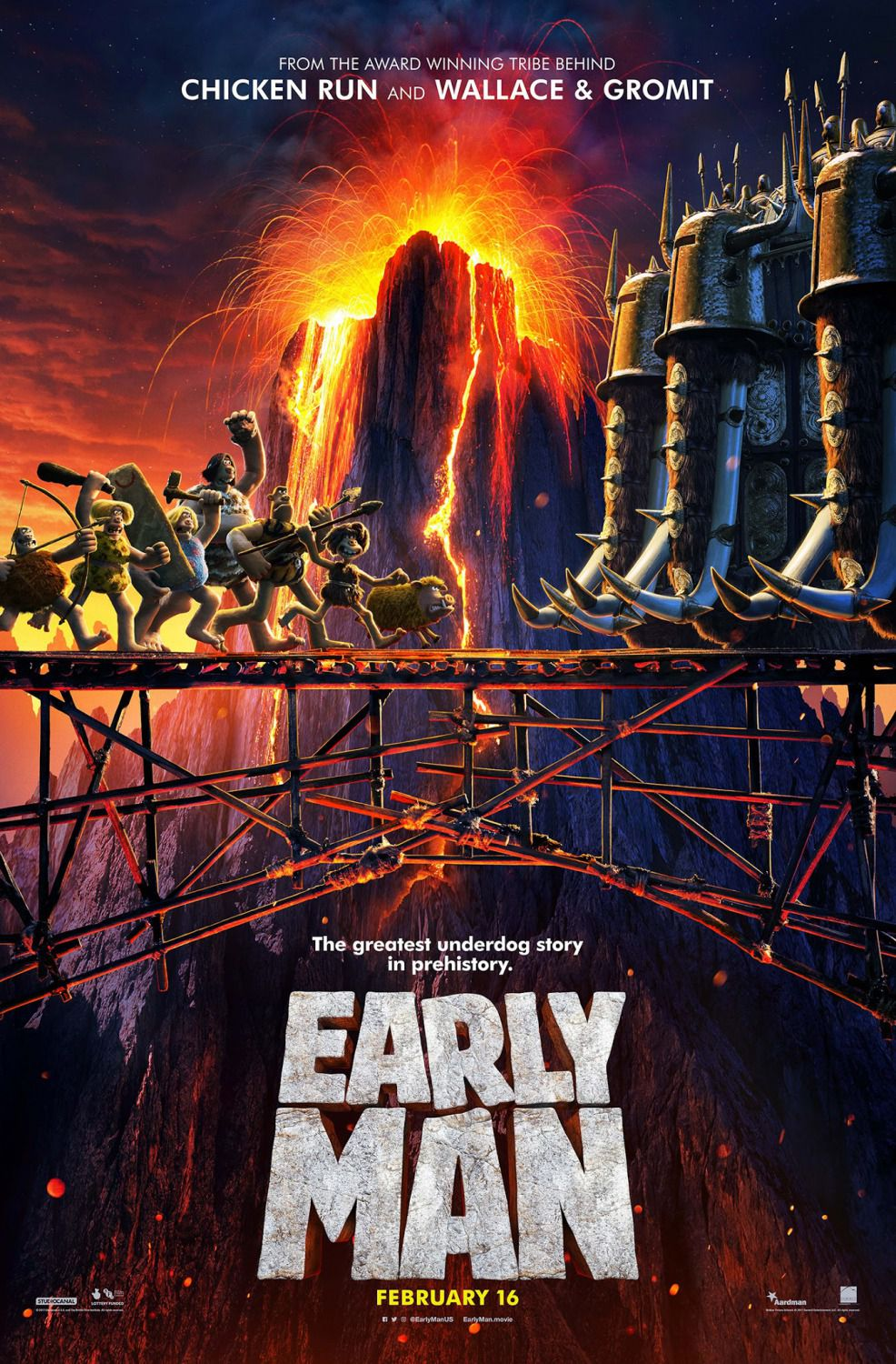 Early Man - bridge poster