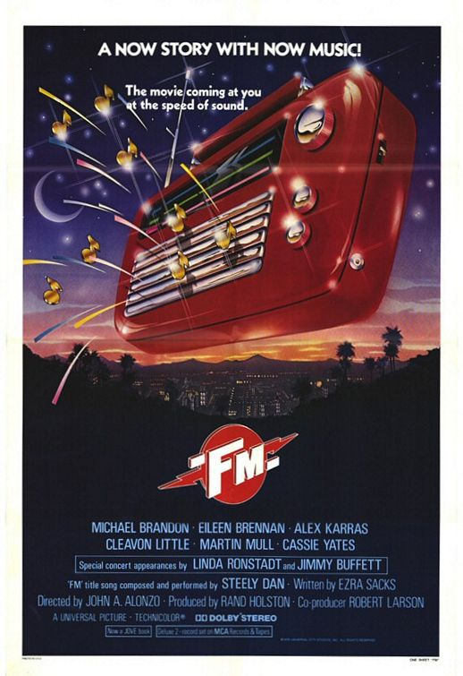 FM - F M - radio music film poster