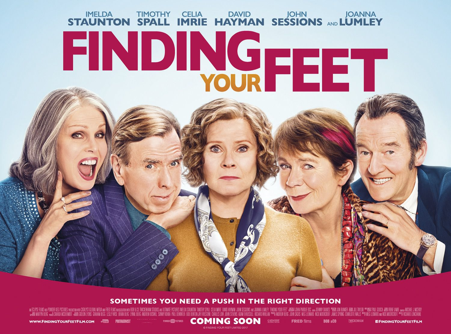 Finding Your Feet - film poster