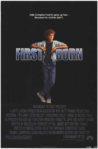 First Born drama film poster
