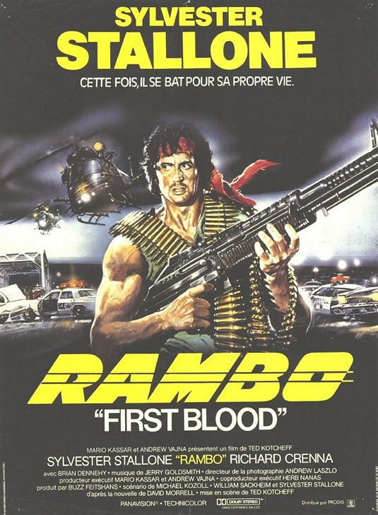 Rambo - First Blood - classic film poster