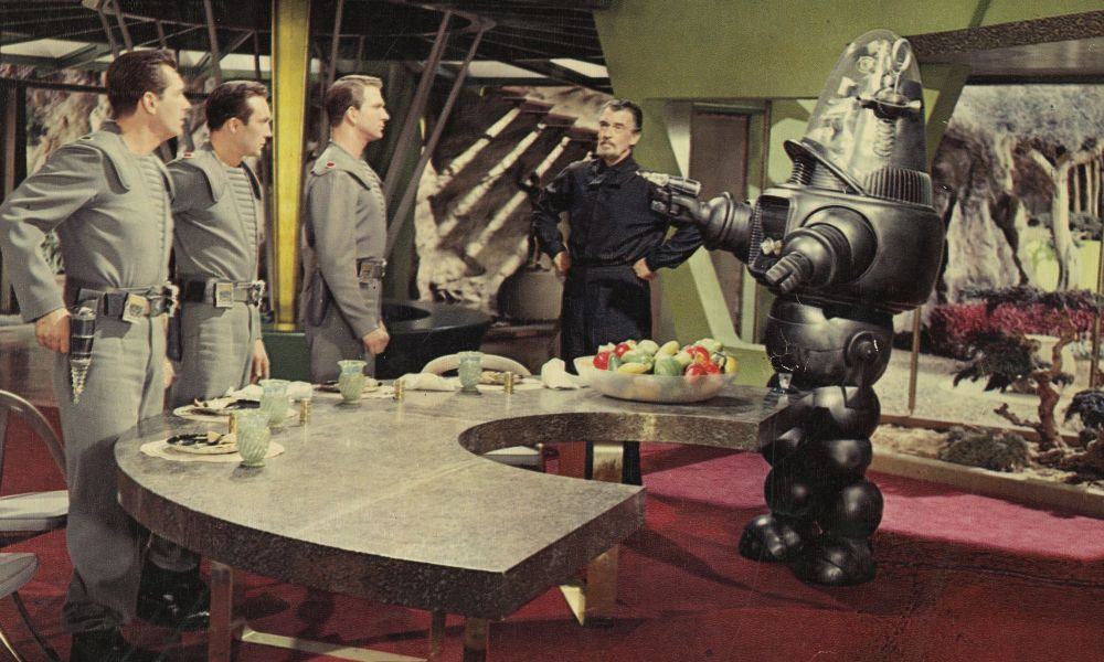 Forbidden Planet - Pianeta Proibito - scene robby the robot