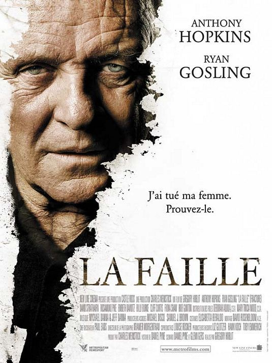Fracture - La Faille - poster - Anthony Hopkins