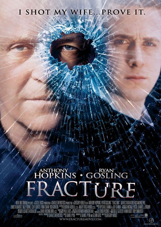 Fracture - poster - Anthony Hopkins, Ryan Gosling