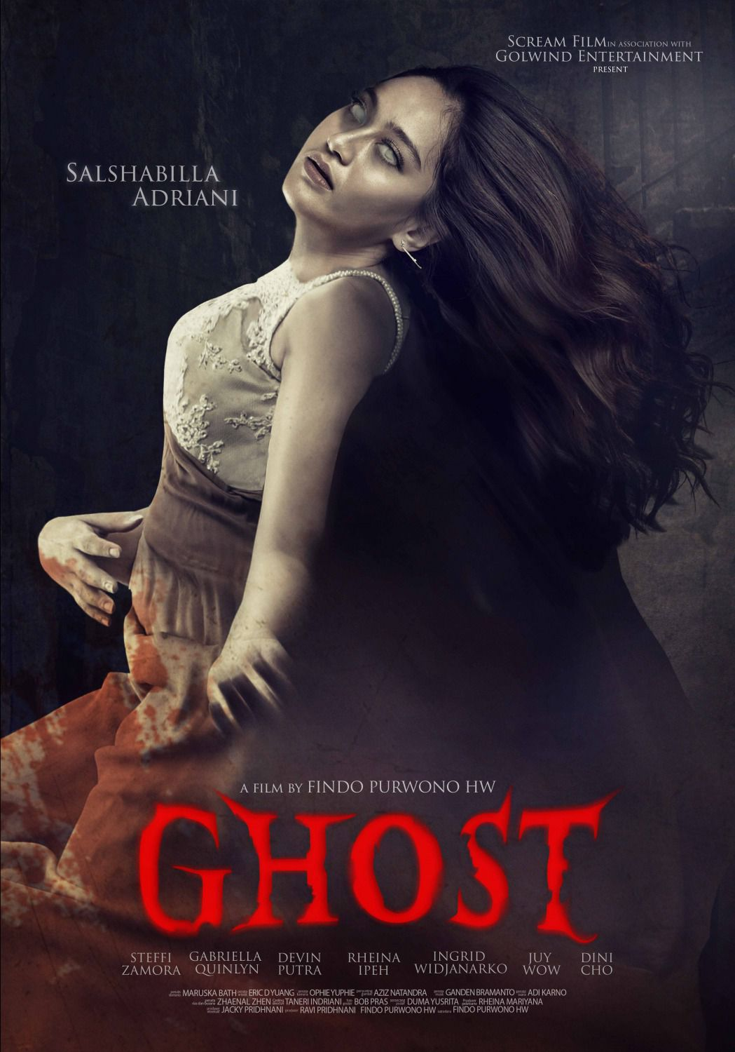 Ghost by Findo Purwono HW - Salshabille Adriani - film poster 2018
