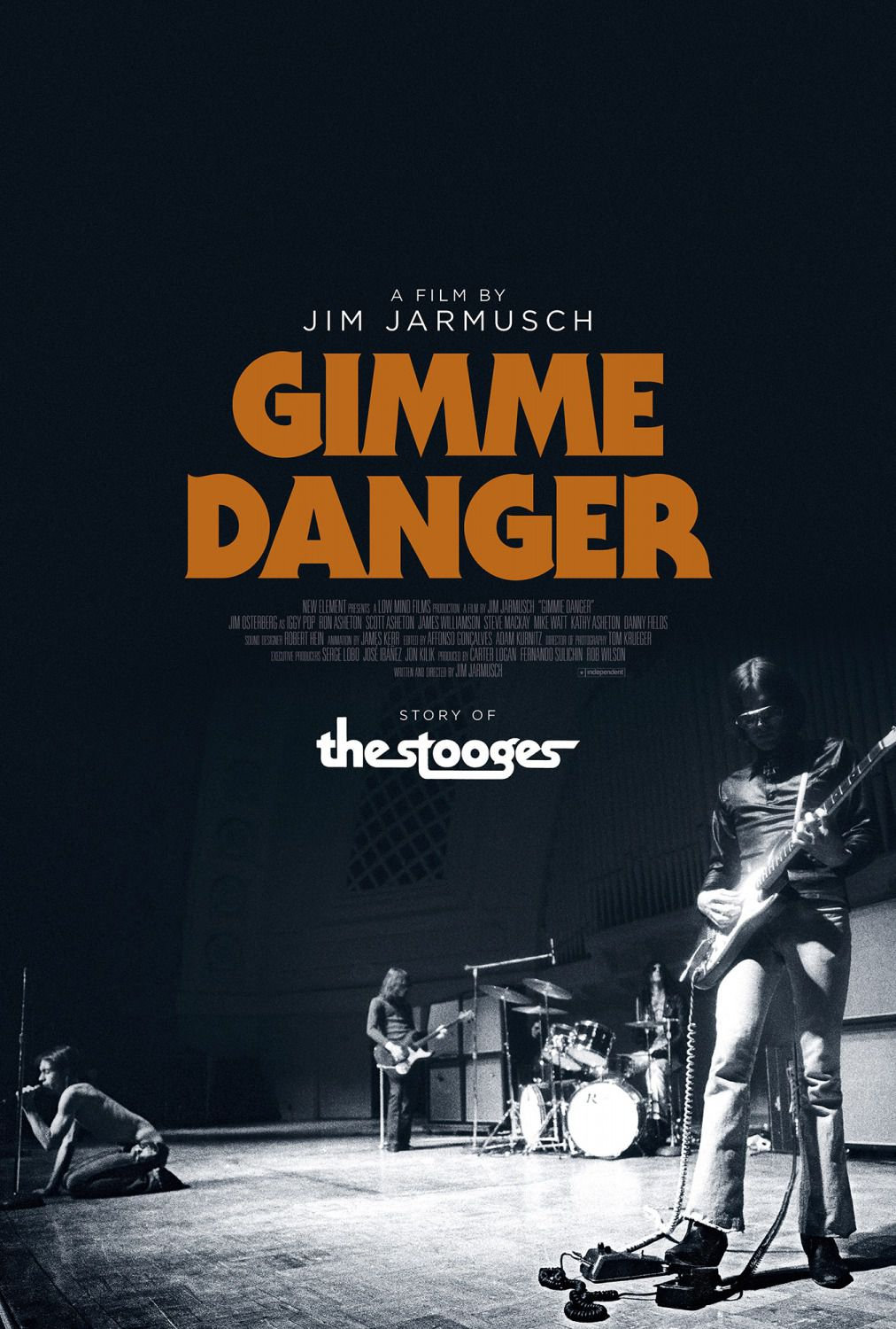Gimme Danger - the Strooges - film poster