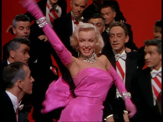 Gli uomini preferiscono le bionde - Gentlemen Prefer Blondes - Marilyn Monroe dance in pink
