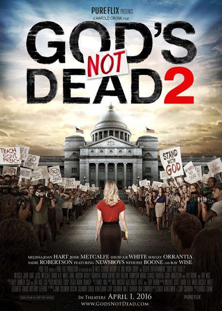 Gods not Dead 2 - film poster