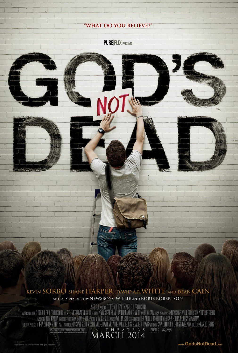 Gods not dead - film poster