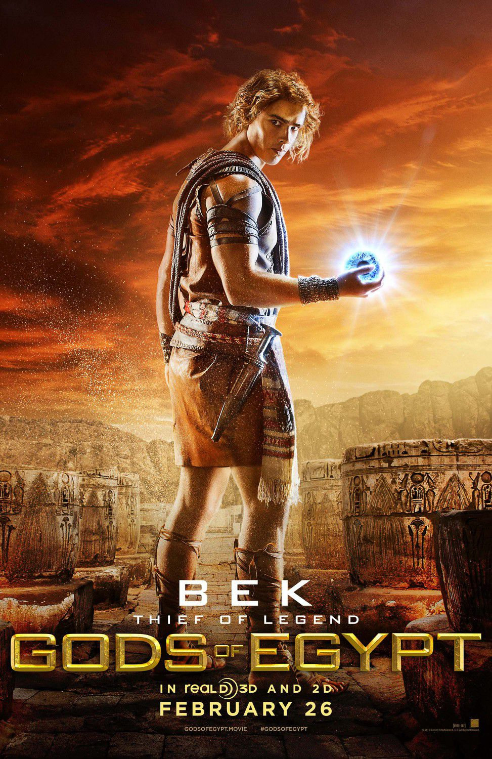 Brenton Thwaites as Bek