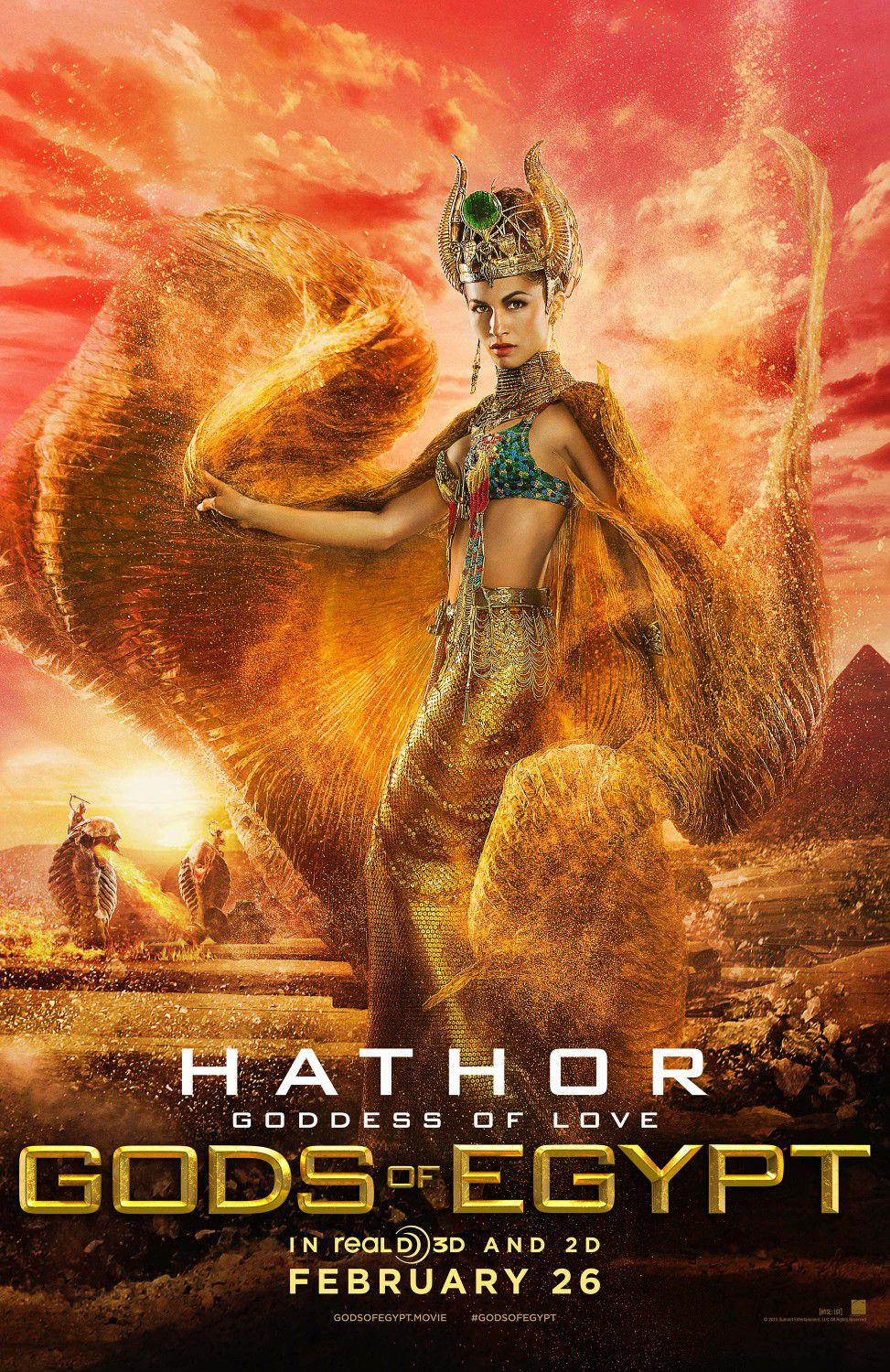 Élodie Yung as Hathor