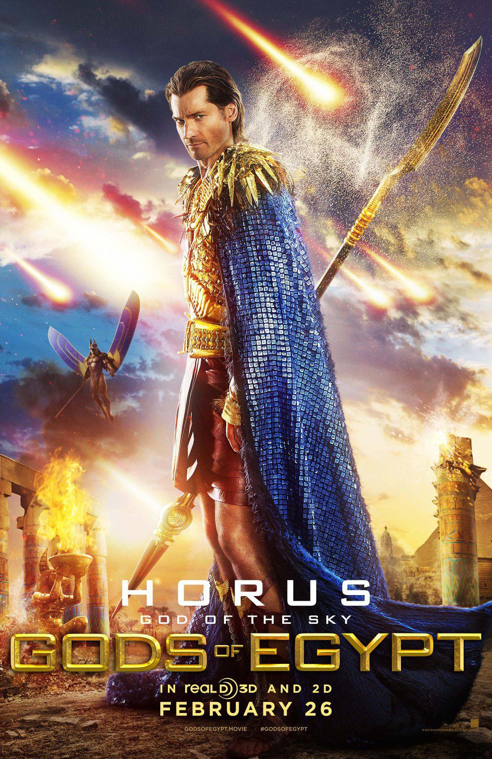 Nikolaj Coster-Waldau as Horus