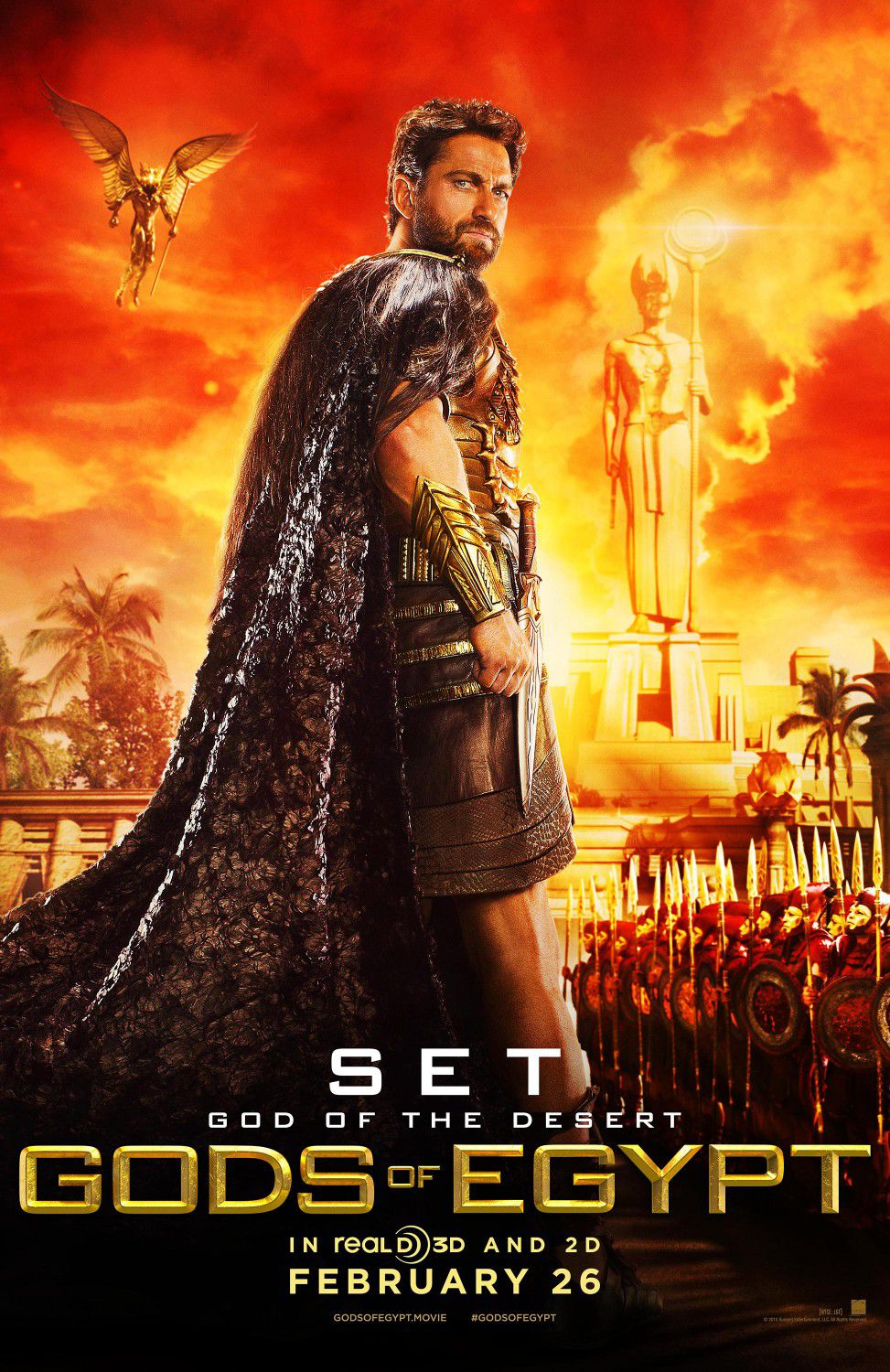 Gerard Butler as Seth