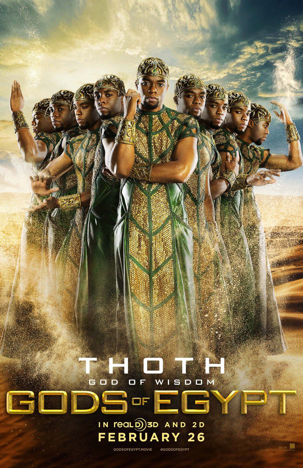 Chadwick Boseman as Thoth