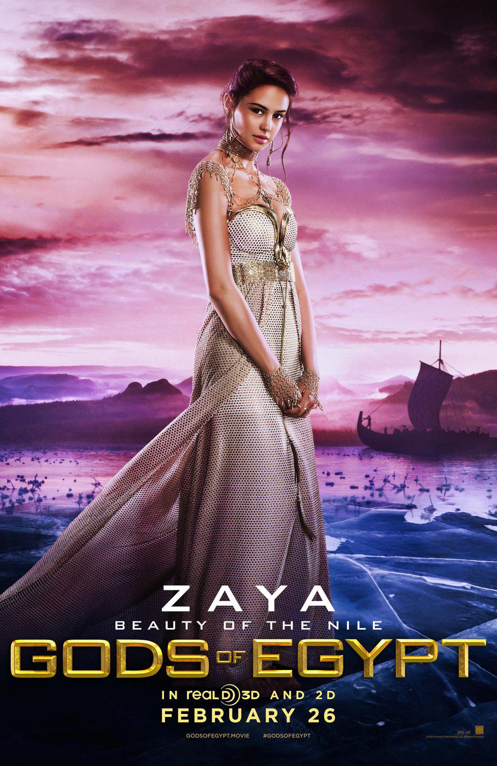 Courtney Eaton as Zaya