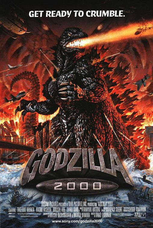 Godzilla (2000) - Get ready to Crumble - film poster