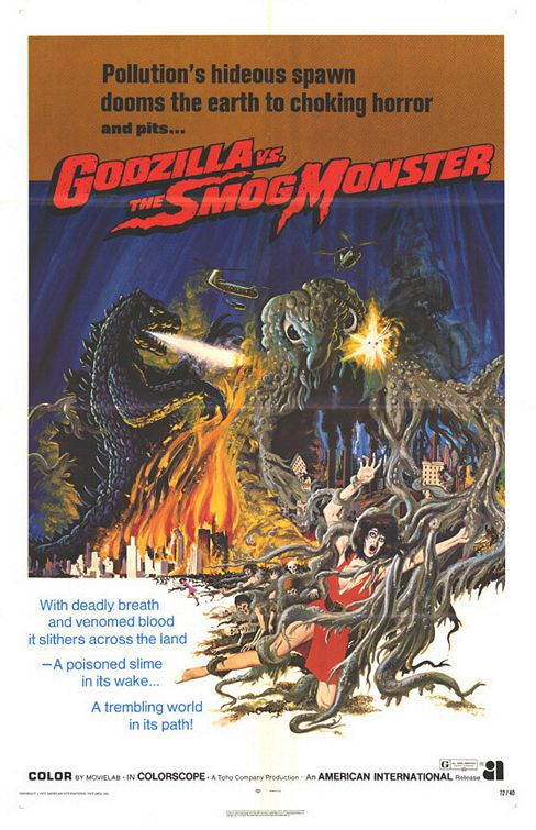 Godzilla vs the Smog Monster (1972)