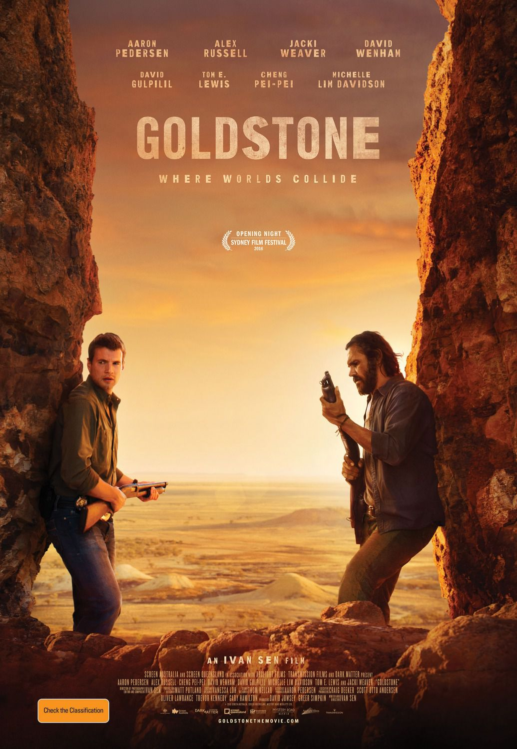 Goldstone film poster