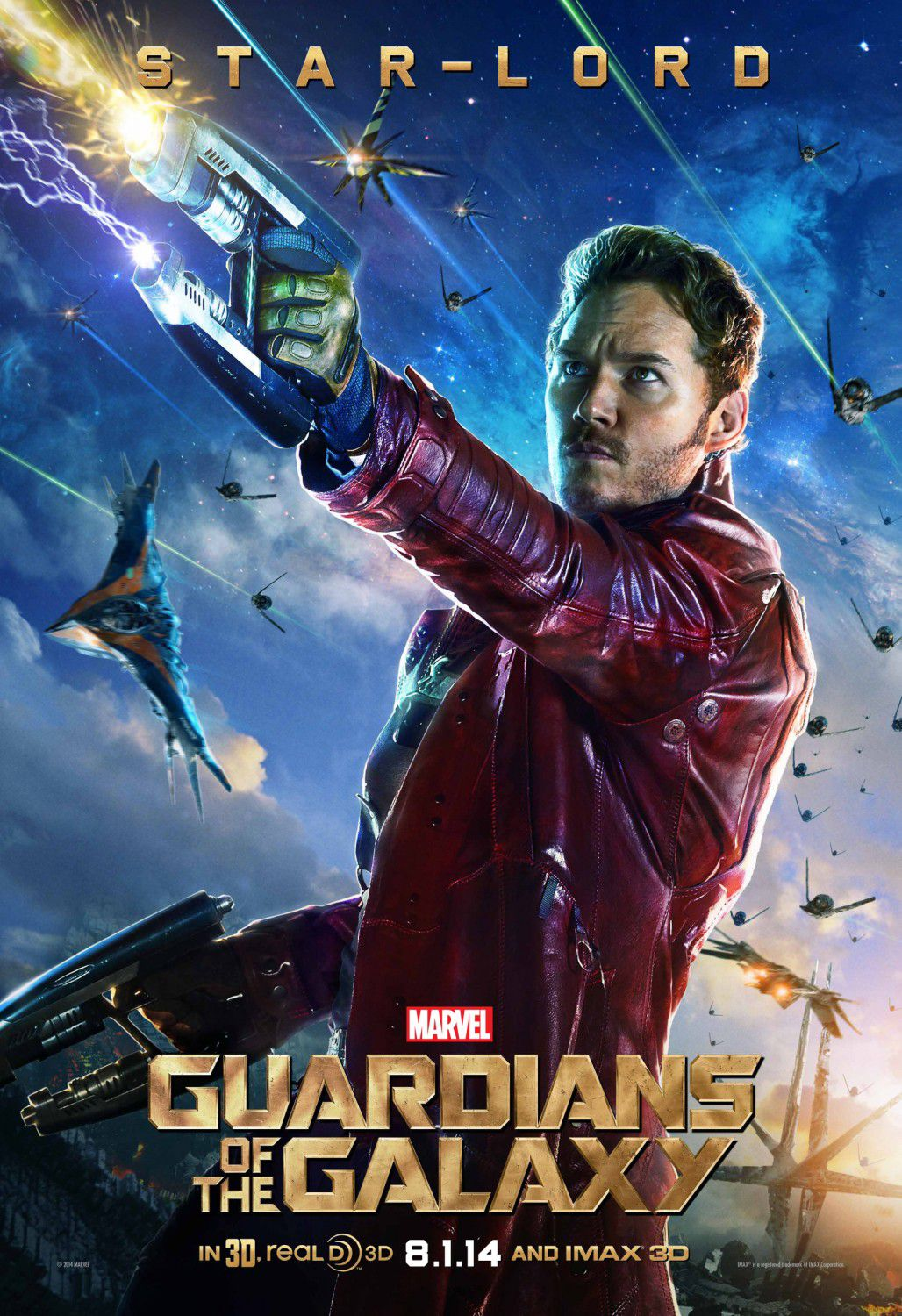 Star-Lord - Chris Pratt