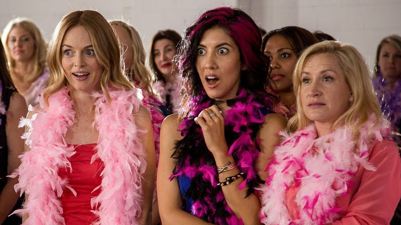 Half Magic (2018) - pink scene - Heather Graham
