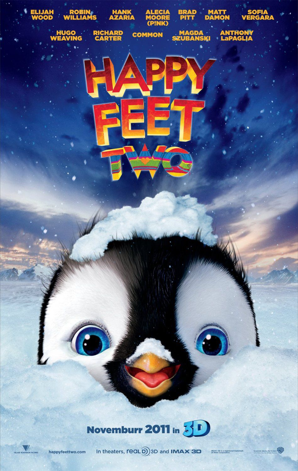Happy Feet 2 - film poster