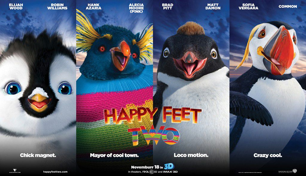 Happy Feet 2 - characters