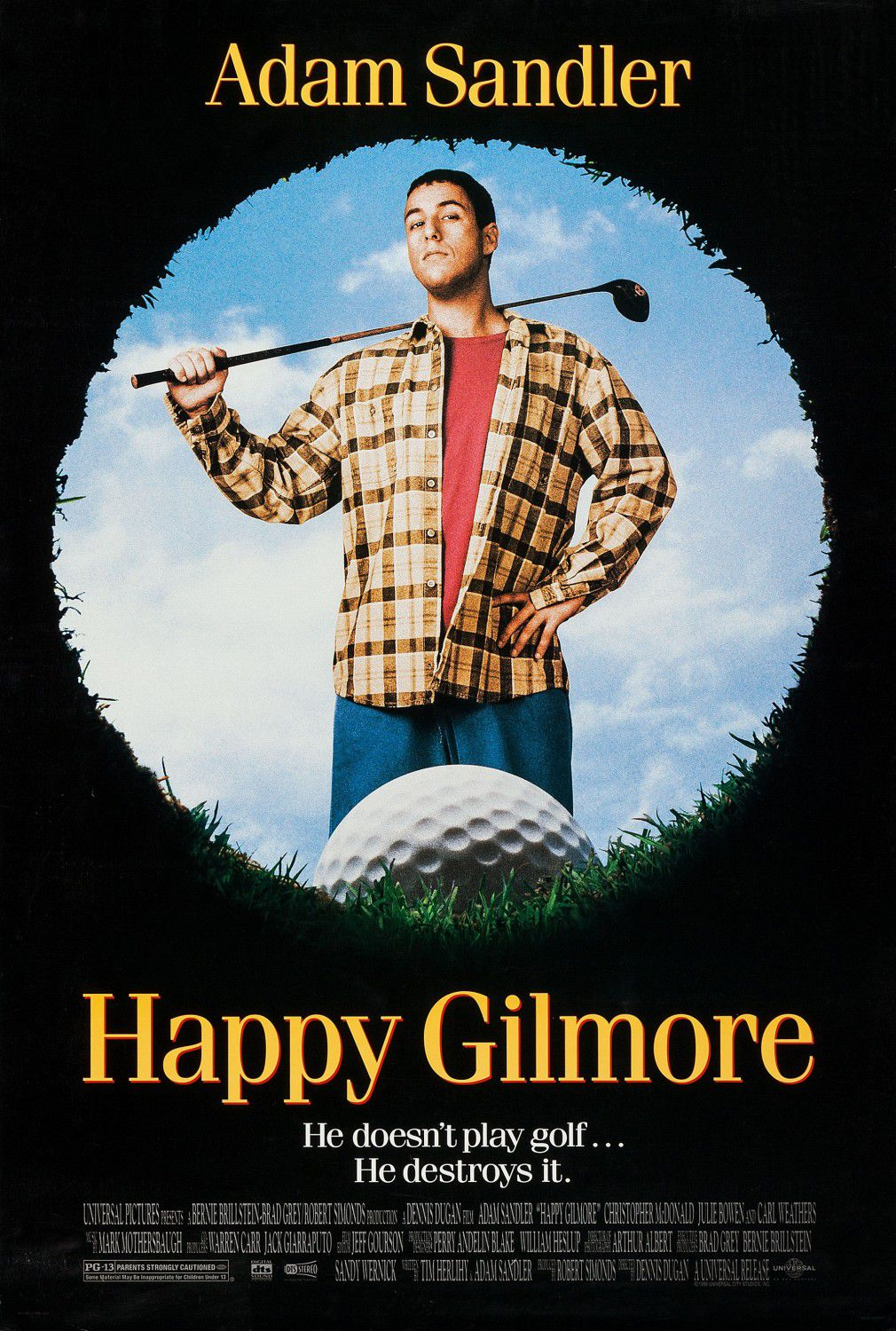 Happy Gilmore - Un Tipo Imprevedibile - film poster