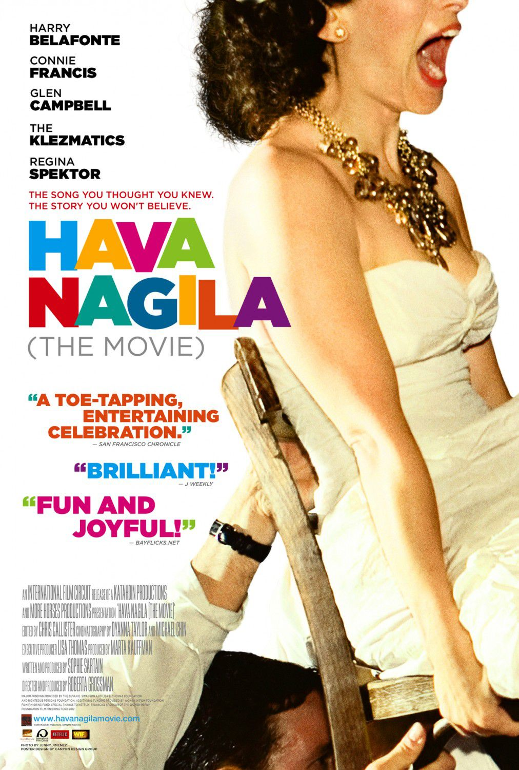 Hava Nagila the movie - film poster