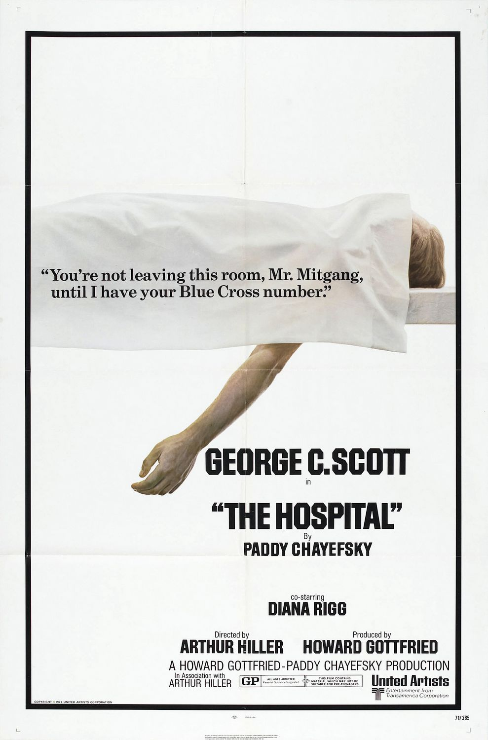 The Hospital - film poster
