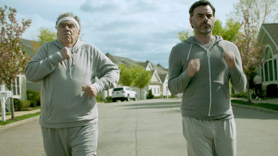 Jemaine Clement, Elliott Gould - Running