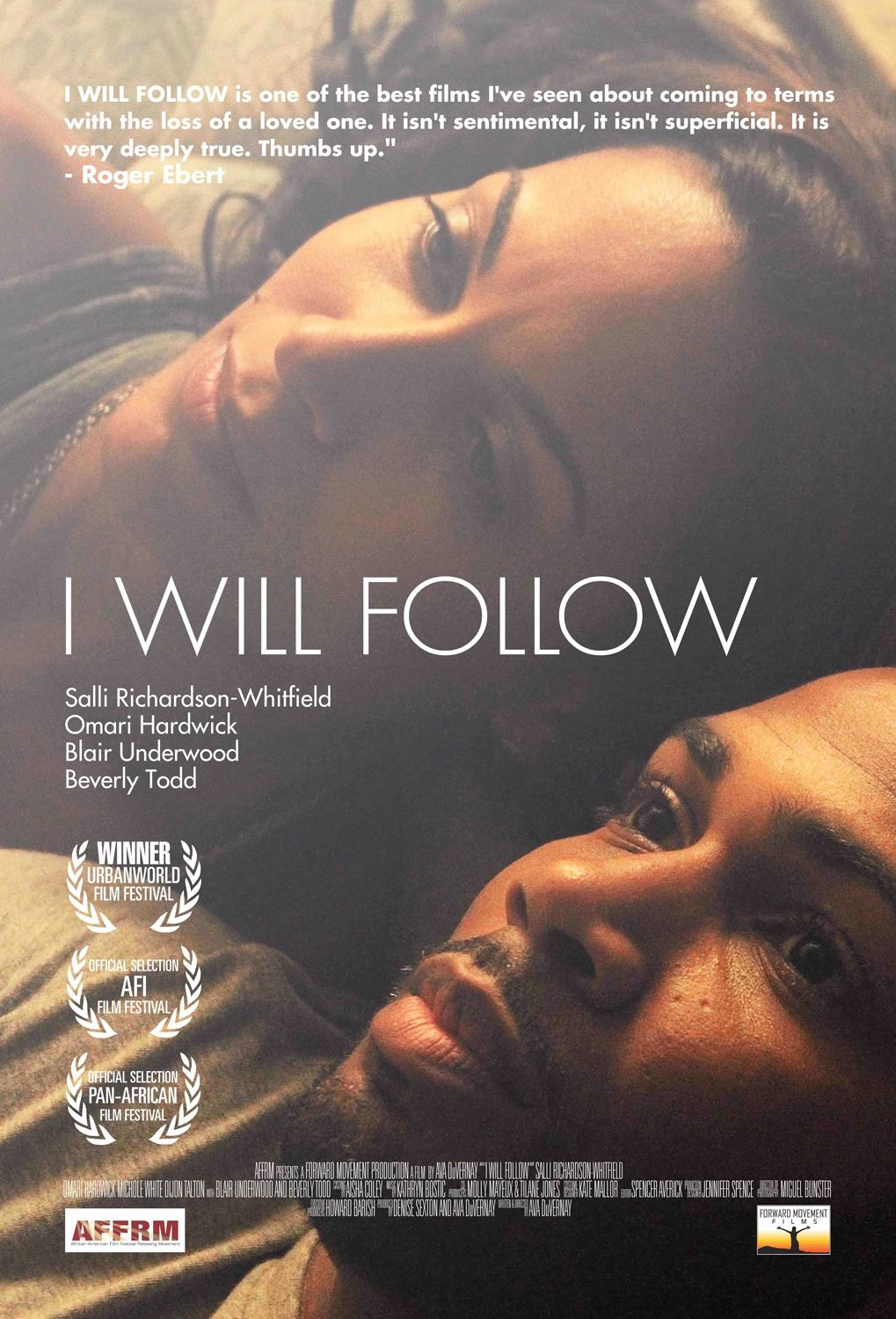 I will Follow by Ava DuVernay - film poster